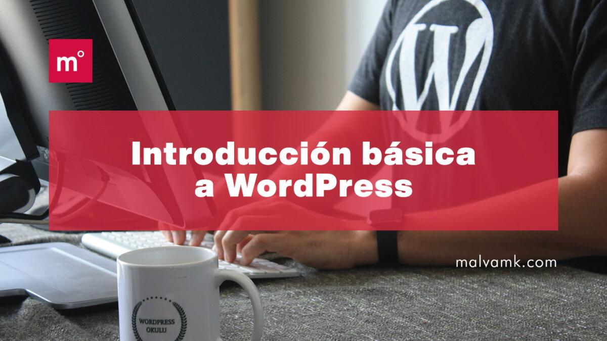 Introducción básica a WordPress