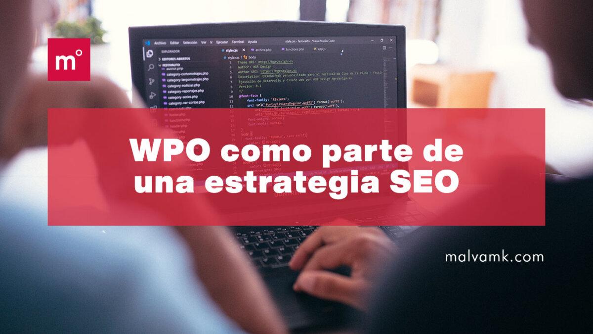 WPO como parte de una estrategia SEO