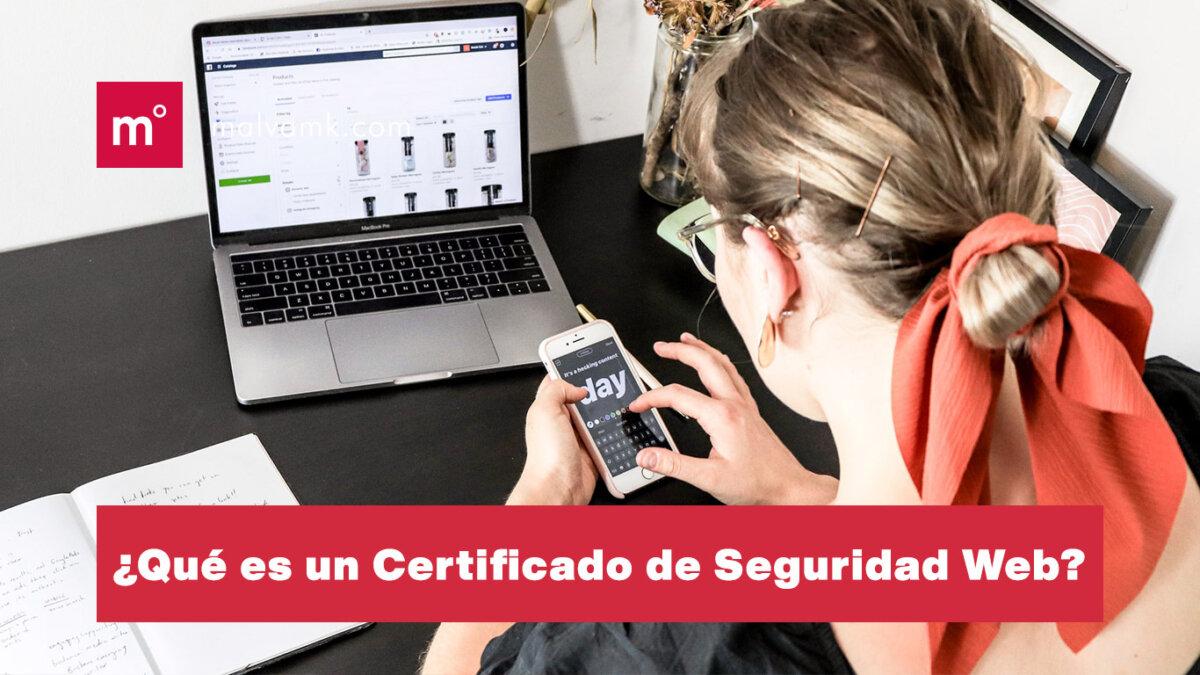 ¿Qué es eun certificado de seguridad web SSL?